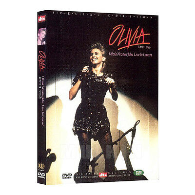 Olivia Newton John - Live in Concert (dts) DVD - (*New *Sealed *All Region)