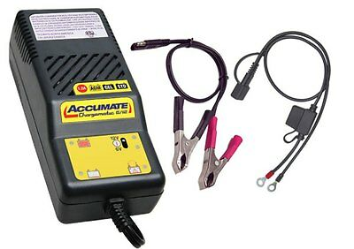 AccuMate 6v & 12v Motorcycle Battery Charger