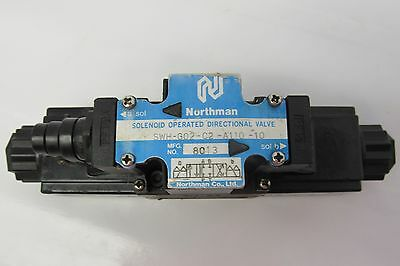 Northman Swh-G02-C2-A110-10 Directional Control Hydraulic Valve