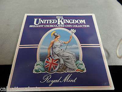 1984 United Kingdom Royal Mint Brilliant Uncirculated Coin Collection