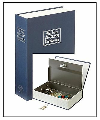 Diversion Book Safe - Faux Dictionary Safe with Locking Metal Inner Compartment