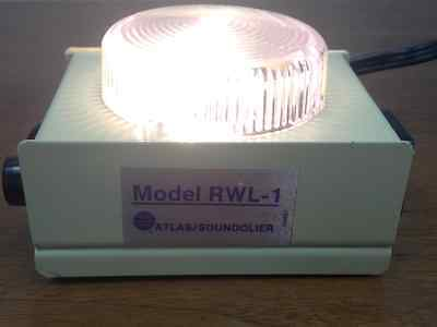 Atlas/Soundolier - Model #RWL-1 - Magnetic Rack, Work Light