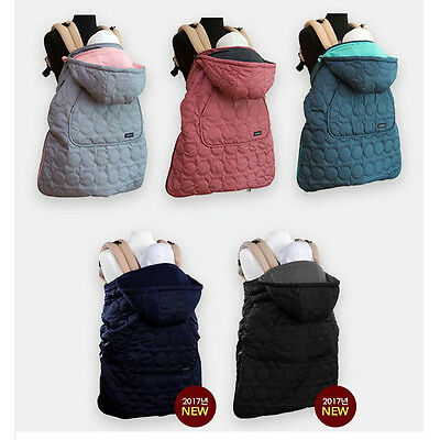 Baby Carrier Reverse Warmer HipSeat Footmuff Three carring positions Oganic