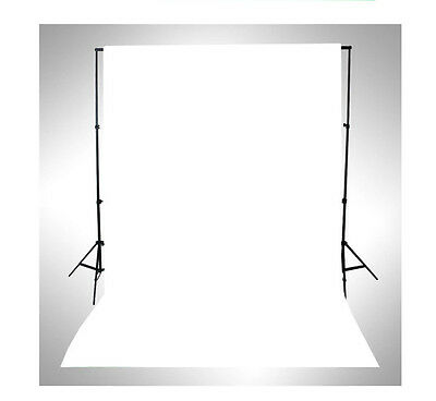 WHITE Thin Vinyl Photography Backdrop Background Studio Photo Props 3x5ft