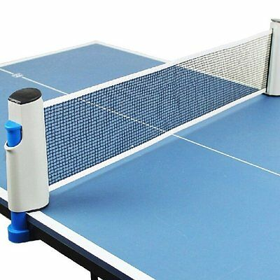 New Outdoor Portable Table Tennis Net Rack Replacement Ping Pong Accessory