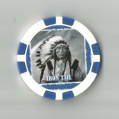 Iron Tail    Collector  Chip Chief Oglala Lakota Chief