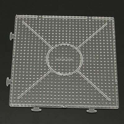 Large Pegboards for Perler Bead / Hama Fuse Beads Clear Square Template Board