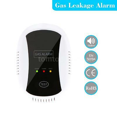 Wireless CO Natural Gas Sensor Leak Detector Kitchen Alarm Sound Warning EU FI5O