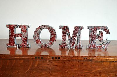 Fantastic Retro 3 Dimensional Lettering Word Home Sign  Sr