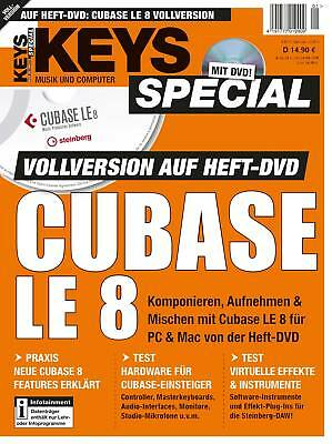 Keys Special Cubase LE 8 Vollversion