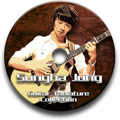 Sungha Jung Fingerstyle Guitar Tab Tablature Song Book Software Cd