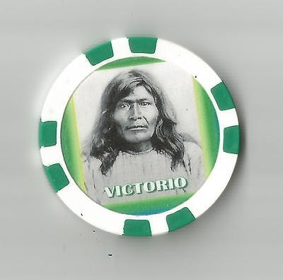 Victorio  Collector  Chip Chief & Warrior Of Mimbreno   Apache