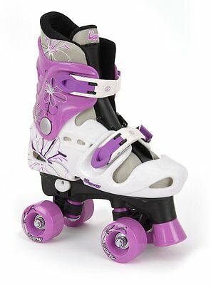 Osprey Girls Quad Skate Size 13 1 2 3 Traditional Roller Skates 4 Wheel Skating