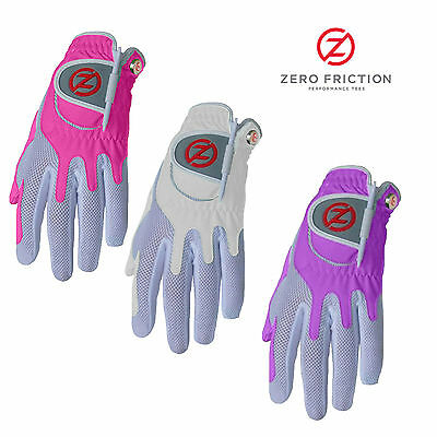 New Ladies Zero Friction One Size Fits All Golf Glove New 2016