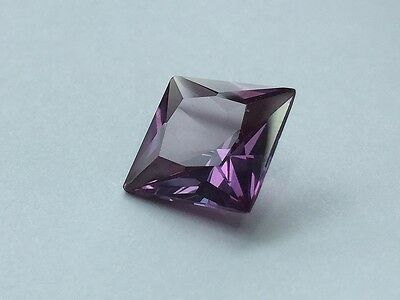 (2.5x2.5mm - 16x16mm) Square Faceted AAA Lab Created Alexandrite Corundum