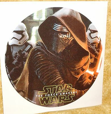Star Wars,The Force Awakens,Edible Rice Paper Image,Cake Tattoo,Topper,DecoPac,