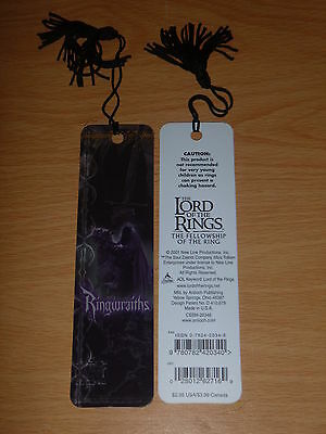 Lord of the Rings - Fellowship of the Ring RINGWRAITHS Bookmark