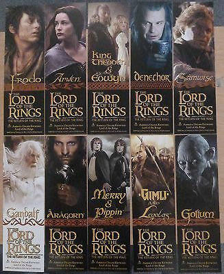 Lord of the Rings - The Return of the King Set of 5 Bookmarks
