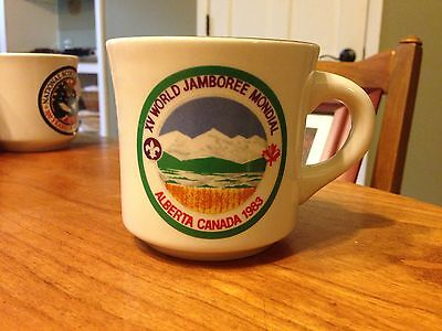 Boy Scout World Jamboree Coffee Mug, 1983, Alberta, Canada