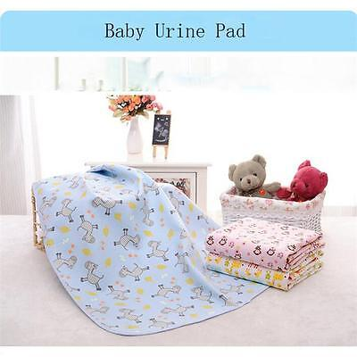 Waterproof Baby Changing Pad Infant Cartoon Printed Cover Toddlers Urine Mat JJ