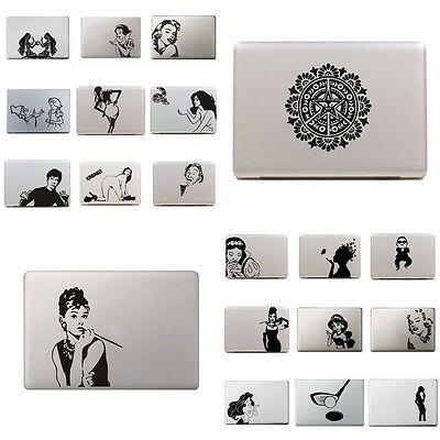 24 Type Sticker Cover Vinyl Decal Skin For Apple MacBook Air/Pro Laptop 13'' 15'