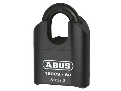 ABUS 190/60 60mm Heavy-Duty Combination Padlock Closed Shackle (4-Digit) Carded