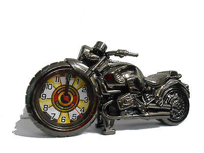 Alarm Clock Unique Motorbike Clock Autobike Idea Christmas Gift