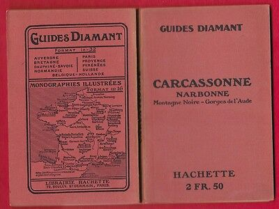 Guides Diamant- Carcassonne-Narbonne - 1923