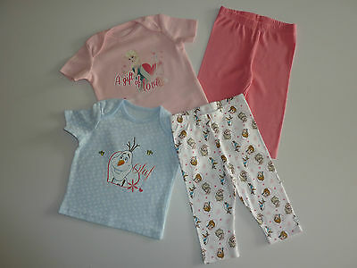 Disney FROZEN Really Cute Little Girls Set of 2 Pairs PJ's NEW in PACK