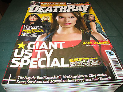 Deathray Magazine Winter 2008 Issue No.16 Giant Us Tv Special Heroes Dollhouse