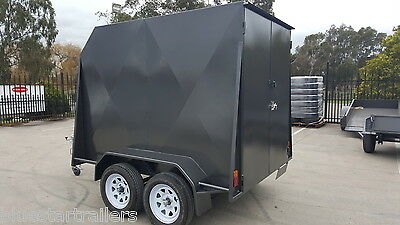 8x5 ENCLOSED TANDEM TRAILER