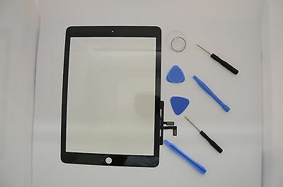 New Touch Screen Glass Digitizer Lens Replacement For iPad Air black