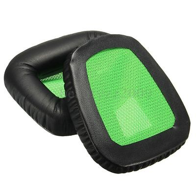 Headsets Ear Pads Replacement Cushion For Razer Electra Game Green/Black Version