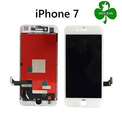 For Apple iPhone 7 LCD Touch Screen Display Digitizer Glass Assembly Unit White