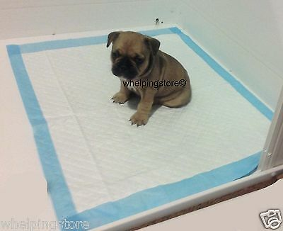 Heavy Duty Puppy Pads whelping box liner 60 x 75cm EX large size layer to suit