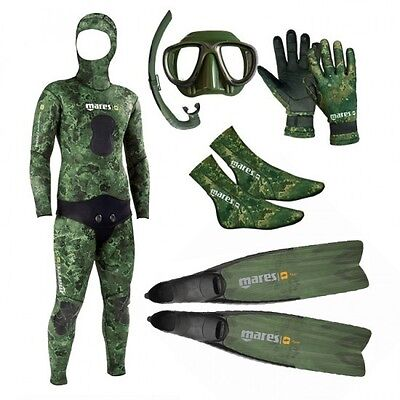 Mares Package Camo Green 5mm 02UK