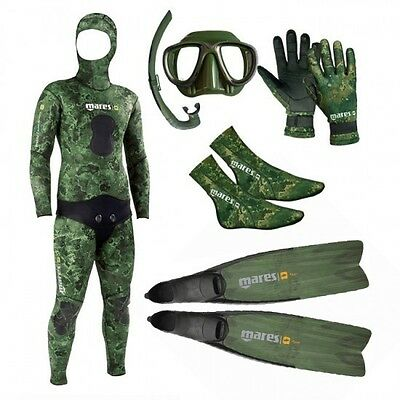 Mares Package Camo Green 3.5mm 02UK