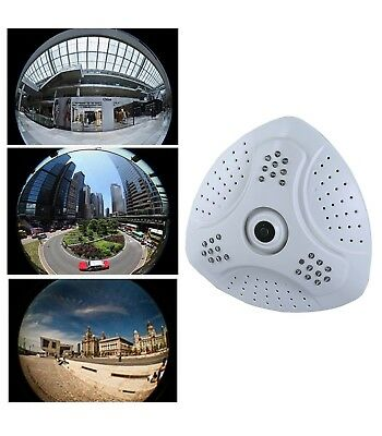 Telecamera Panoramica Fish Eye 360° Gradi Digitale Ahd Led Grandangolo Soffitto