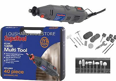 135w Multi Tool Mini Drill Kit with Accessories and Case  Sander Grinder Milling