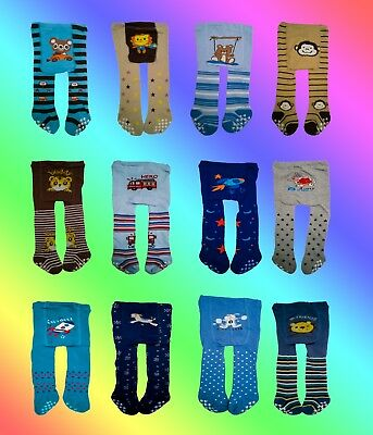 Boys Tights-Toddler Boys Leggings Kids Mix Leg Warmers Knitted Infant Pants