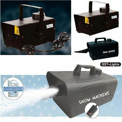 Electric Artificial Pretend Fake Snow Fog Machine Maker Blower Party Generator