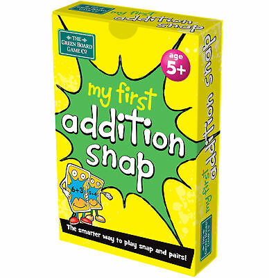 BrainBox My First Addition Snap Pairs Card Game Maths Numbers Educational