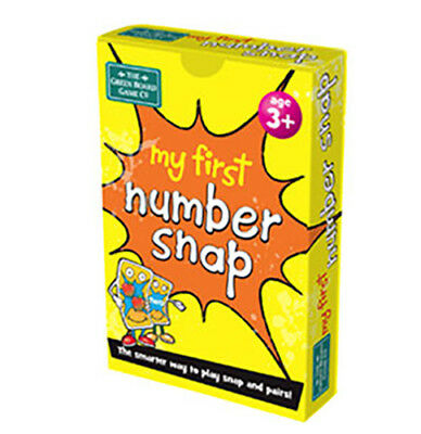 BrainBox My First Number Snap Card Game Pair Counting Maths Educational Matching