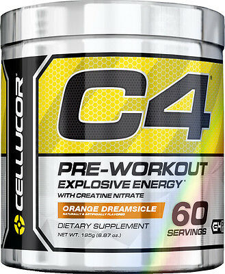 New CELLUCOR C4 Extreme 30 / 60 Servings Best Pre Workout - Explosive Energy !