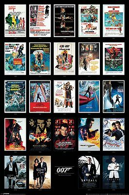 James Bond (Movie Posters) - Maxi Poster - 61cm x 91.5cm PP33726 - 155
