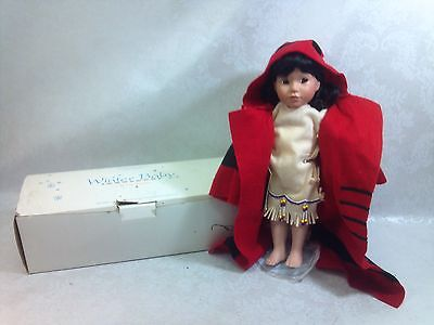"""Winter Baby"" by Carol Theroux Porcelain Doll Georgetown Collection 14"" H"