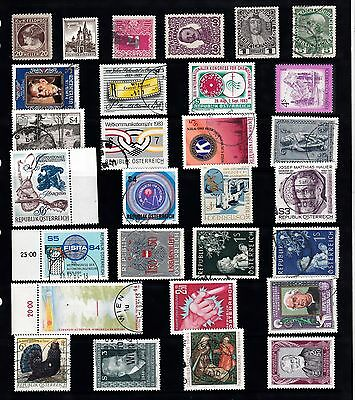 AUSTRIA Stamps Collection Majority USED RE:QA925