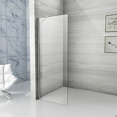 850x1850mm Walk In Shower Enclosure Wet Room 6mm Easyclean Glass Screen Panel