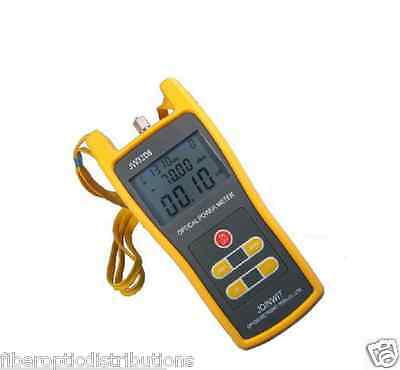 Handheld Optical Power Meter ,Laser Fiber Optic Tool Tester -50 to+26dBm( QTY 2)