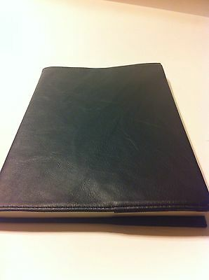 AA 12 and 12 Large Print Black Leather Book Cover